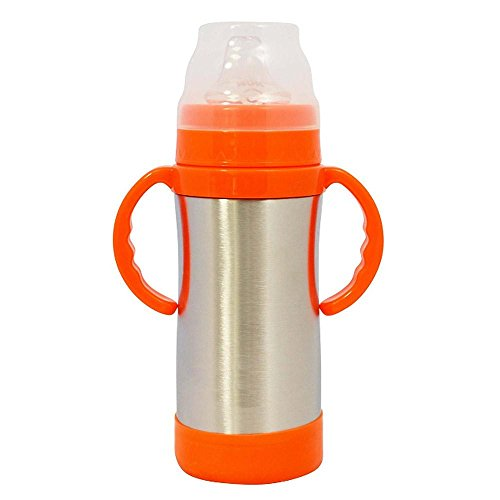 Eco Vessel The Insulated Sippy 10 oz (Silver)