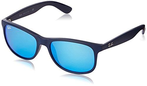ray-ban-unisex-sonnenbrille-andy-gr-large-herstellergrosse-55-blau-gestell-blau-glas-blau-verspiegel