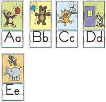 Buy BB SET ALPHABET TRAD MANUSCRIPT KID