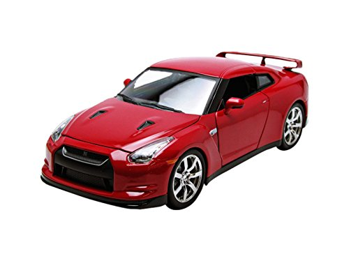 2009 Nissan GT-R R35 Red 1/24 by Jada 96811 (Nissan Gtr Model compare prices)