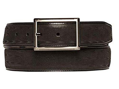 Mezlan Mens Ao10120 Belt , Black, 44 Medium (AO10120)