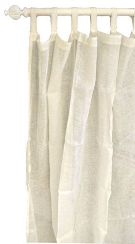 New Arrivals Whisper Linen in Antique Linen Curtain Panels