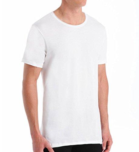 BNBUS106 Bread and Boxers Crew Neck Cotton Blend T-Shirt