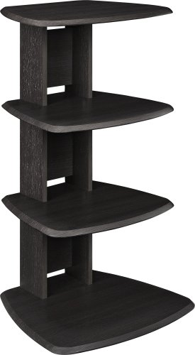 Altra Galaxy Audio Stand, Espresso (Shelves For Consoles compare prices)