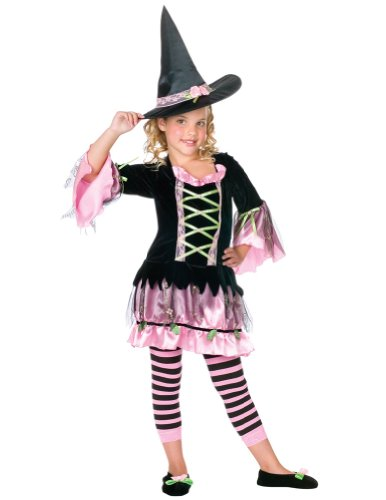 girls - Blossom Witch Sm Halloween Costume - Child Small