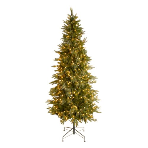 GKI Bethlehem Lighting Pre Lit 7 1 2 Foot PE PVC Christmas Tree With 500 Clea
