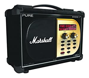 Pure Digital EVOKE1XT MARSHALL DAB Radio Black