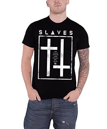 Slaves - Top - Maniche corte  - Uomo nero Small