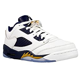 Nike Air Jordan 5 Retro Low LTD Alternate Dunk From Above Basketball Shoes Sneaker different colors, Color:white;EU Shoe Size:EUR 35.5