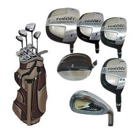 Texan Classics Power2 LADY SQUARE Golf Club Set w/Cart Bag