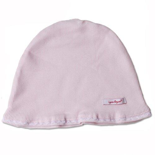 Leyun Confinement Cap / Puerperal Cap/ Thin Pure Cotton /Pregnant Women Cap Pink Ly008 front-784469