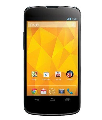 LG E960 Google Nexus 4 Unlocked GSM Phone 16GB Black (Lg Nexus 5 Sprint compare prices)