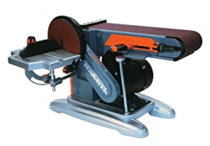 Terratek TBD46 4-Inch By 6-Inch Belt and Disc Sander