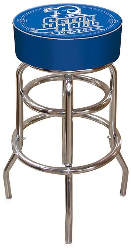 Ncaa Seton Hall Padded Bar Stool front-437604