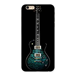 Cute Greenish Print Guitar Back Case Cover for iPhone 6 Plus 6S Plus