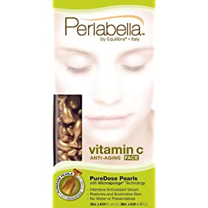 Perlabella supplement C Anti-Aging Face, Pure Dose Pearls With Microsponge Technology