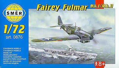 Smer 876 Fairey Fulmar I/II 1:72 Plastic Kit Maquette