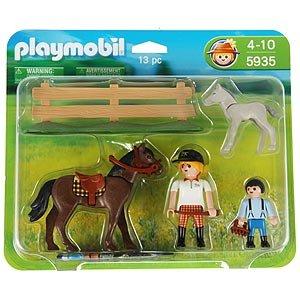 Pony ranch 5935 horse foal playmobil - Pferde playmobil ...
