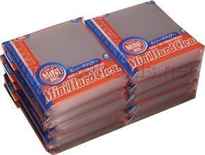 KMC Sleeves MS1331 Deck Protectors Mini Clear, Pack - 50 - 1