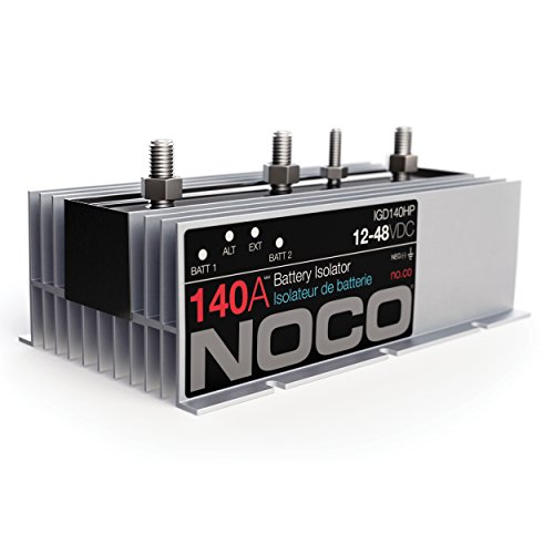 noco igd140hp 140 amp battery isolator 046221489361 toolfanatic