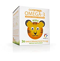 COROMEGA Kids Omega 3 Supplement, 30 Count