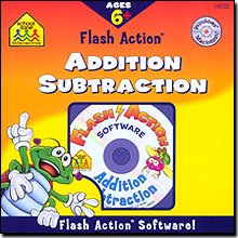 SCHOOL ZONE Flash Action -- Addition/Subtraction (Windows/Macintosh)