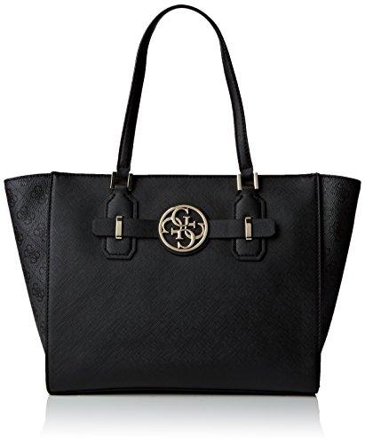 GUESS, Damen Handtaschen, Schultertaschen, Shopper, Logo-Optik, 36x26x13 cm (B x H x T) thumbnail