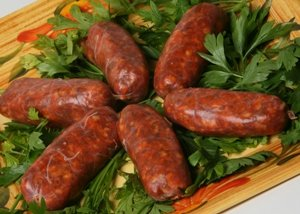 Pork Sausage Italian Style Hot 1lb from Pastacheese