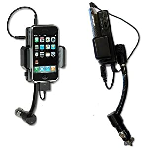 Mp3 Phone Accessories:FM STEREO Transmitter / Car Charger / Dock + Remote Control Hands Free Car Kit All Kit For iPhone ipod Nokia