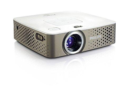 Philips PPX3414/EU PicoPix Proiettore Tascabile, Grigio