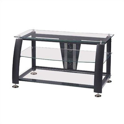 Cheap 44″ TV Stand in Black (GKR-685-BC)