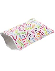 Itzy Ritzy Wet Happened Zippered Wet Bag Sight Word Soup Medium