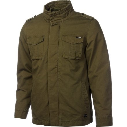 KR3W Super Massive Jacket - Men's Military/Military, XL