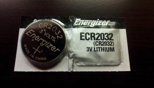 Energizer CR2032 Lithium 3v Coin Cell Button CMOS Battery for Computer Motherboards