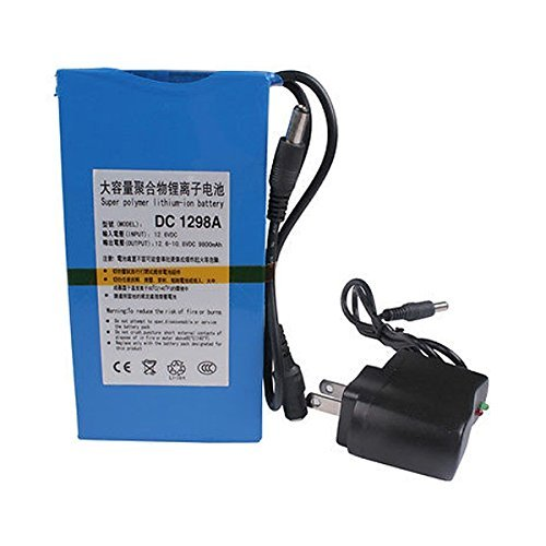 Fashion Outlet Super Power New Dc 12v Portable 9800mah Li-ion Rechargeable Battery Pack (12v Lithium Ion Battery Pack compare prices)