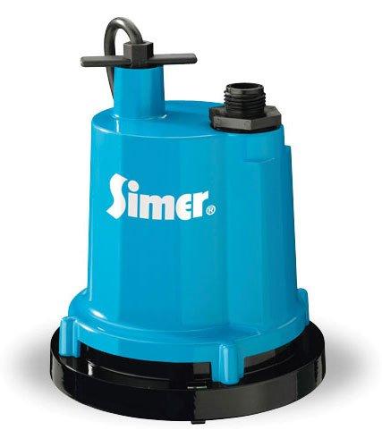 Simer 2300 1/4 HP Submersible Utility Pump