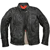 Roland Sands Design Rocker Leather Jacket - Large/Black