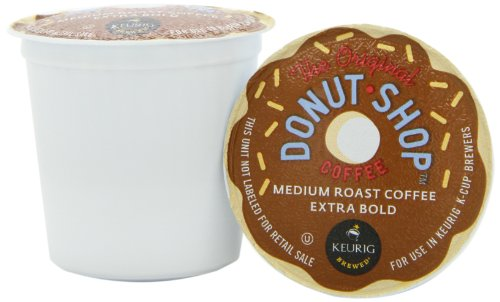 Donut Shop K-Cup packs for Keurig Brewers (Pack of 50)