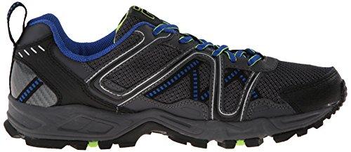 Fila Men's Ascente 15 Trail Running Shoe, Black/Castle Rock/Prince Blue, 10.5 M US