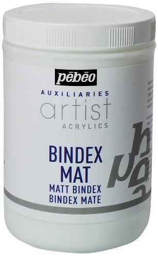 Pebeo 1 Litre Bindex Liant Transparent mat