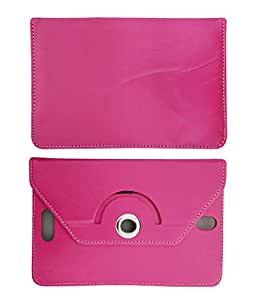 Fastway 8 Inch Rotate Tablet Book Cover For LG G Pad 8.3 LTE-Pink