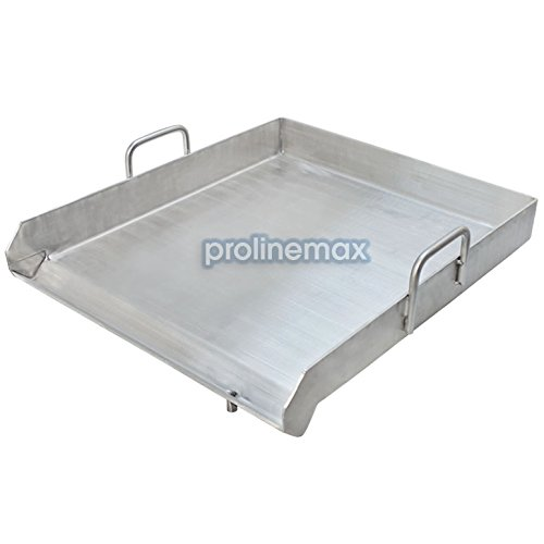 Heavy Duty SINGLE STOVE Stainless Steel Griddle Flat Top Plancha Pan Comal Cook (Stovetop 4 Burner Griddle compare prices)