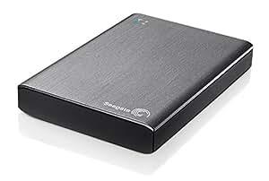 Seagate Wireless Plus STCK1000200 externe drahtlose Festplatte 1 TB (6.4 cm (2.5 Zoll), auch USB 3.0) silber