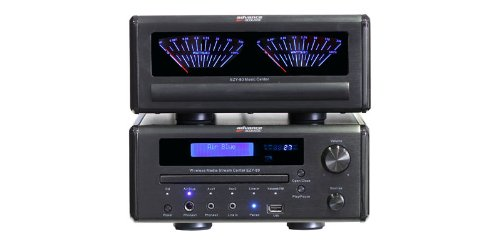 Advance Acoustic EZY 80 Chaine Hifi Media wifi/USB/Air blue Bluetooth APTX/CD/Tuner 2 x 70 W Noir