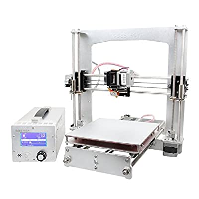 Han Shi- 3D Printers, DIY LCD Filament 3D Printer, 6mm-thickness, Filaments Compatibility: PLA, ABS, Nylon, Wood and Flexible PLA,LCD Panel