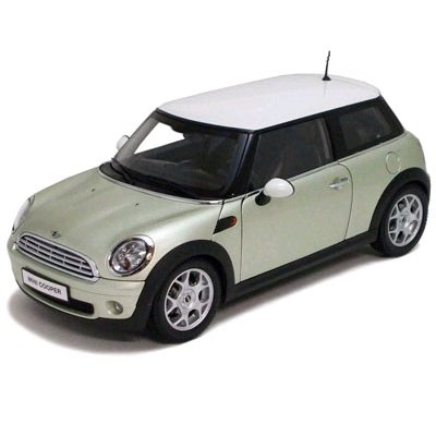 Top KYOSHO 1:18 SCALE MINICOOPER DIECAST DIE-CAST MODEL TOY CAR CARS NEW SILVER