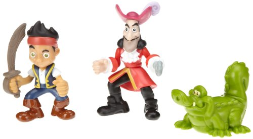 Fisher-Price Disney's Jake and The Never Land Pirates - Jake, Hook and Croc Pirate Pack - 1