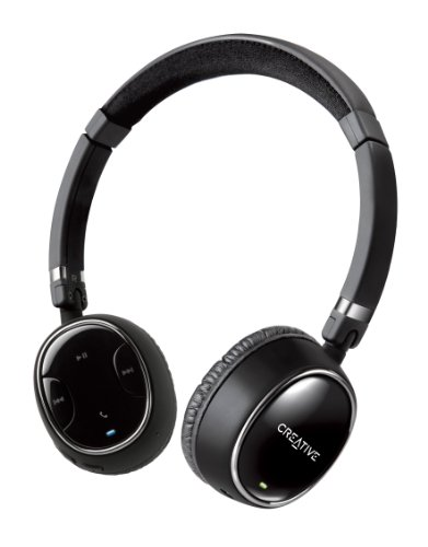 Casque Creative Labs WP-350 noir- Bluetooth