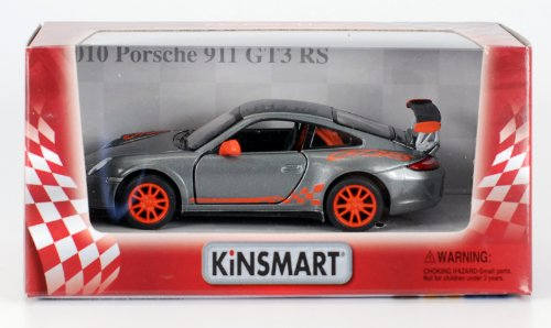 2010 Porsche 911 GT3 RS 1:36 Scale (Grey) - 1