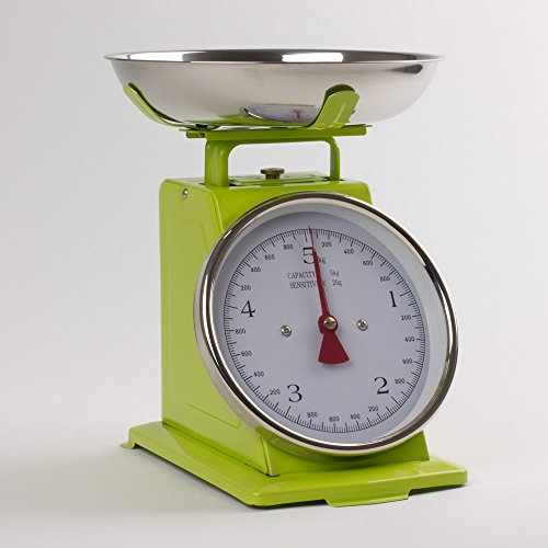 TREND'UP Balance de cuisine rétro verte
